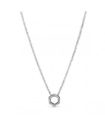 Collar Pandora Panal de Abeja Brillante - 398787C01-50