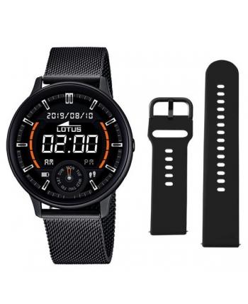 Reloj Lotus SmarTime Esterilla IP Negro - 50016/1