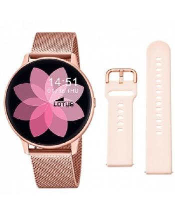Reloj Lotus SmarTime Esterilla IP Rosa - 50015/1
