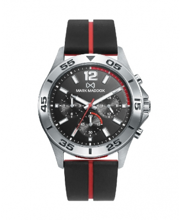 Reloj Mark Maddox Mission Multifunción Acero - HC0111-55
