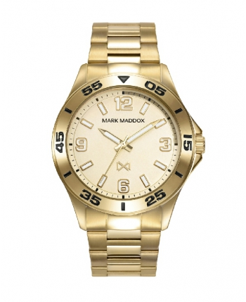 Reloj Mark Maddox Mission Acero IP Dorado - HM0115-95
