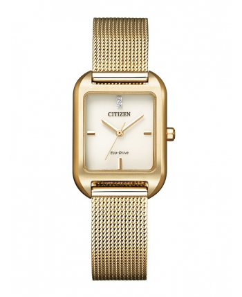 Reloj Citizen Eco Drive Lady Square Chapado - EM0493-85P