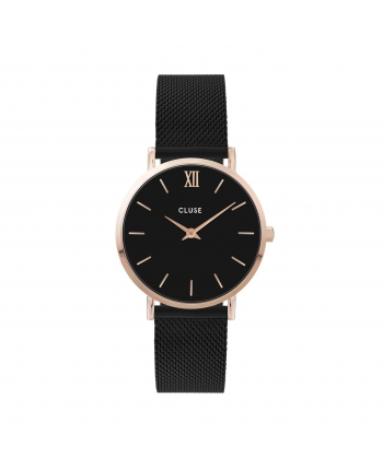 Reloj Cluse Minuit Rose Gold Milanesa - CW0101203024