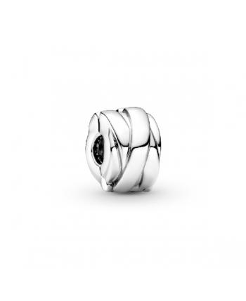 Clip Pandora Cintas Pulidas - 799502C00