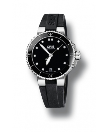 Oris Aquis Date Diamonds Watch - 73376524194RS